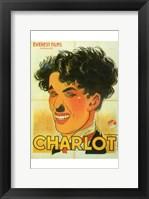 Framed Charlie Chaplin - Charlot