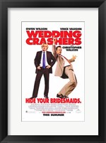 Framed Wedding Crashers - Hide your bridesmaids