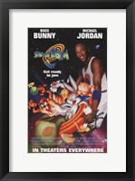 Framed Space Jam - Get Ready to Jam