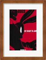 Framed Space Jam - Bugs