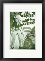 Framed Man from Monterey John Wayne