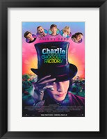 Framed Charlie and the Chocolate Factory Johnny Depp