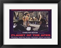 Framed Planet of the Apes Charlton Heston