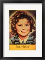 Framed Shirley Temple