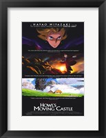 Framed Howl's Moving Castle Scenes