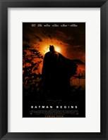 Framed Batman Begins Coming Soon