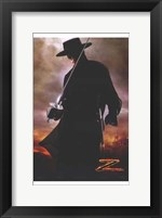 Framed Legend of Zorro