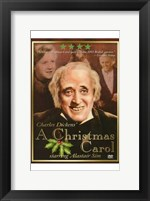 Framed Christmas Carol Alastair Sim
