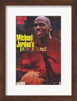 Framed Michael Jordan's Playground