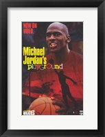 Framed Michael Jordan's Playground