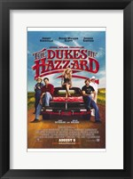 Framed Dukes of Hazzard