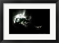 Framed Batman Begins Batmobile