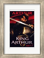 Framed King Arthur - Arthur