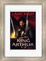 Framed King Arthur - Lancelot