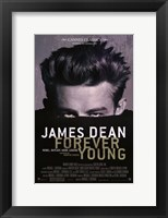Framed James Dean: Forever Young