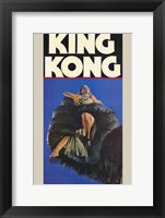 Framed King Kong fay Wray in Hand