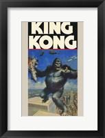 Framed King Kong Holding Fay Wray