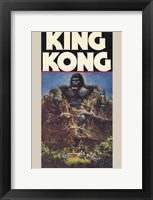 Framed King Kong Crushing Train I