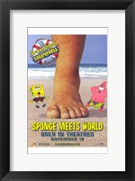 Framed Spongebob Squarepants Sponge Meets World