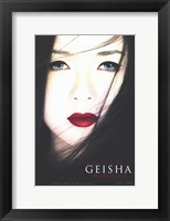 Framed Memoirs of a Geisha