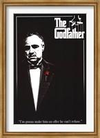 Framed Godfather - Red Rose