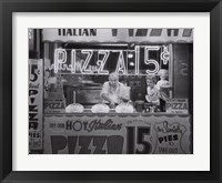 Framed Hot Italian Pizza