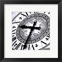 Pieces of Time III Framed Print