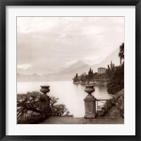 Framed Villa Monastero, Lago di Como