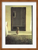 Framed Bunny Dressing