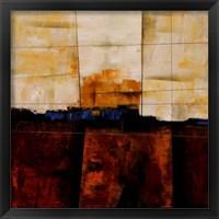 Framed Red Ground