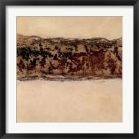 Cream Truffle Framed Print