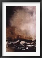 Tobacco and Chocolate II Framed Print