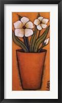 Framed Flores Brancas II