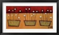 Framed Flores du Campo