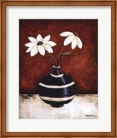 Framed Floral Whimsey I