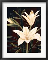 Framed Botanical Elegance I