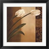 Framed Tulip Pair