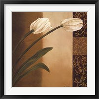 Tulip Pair Framed Print