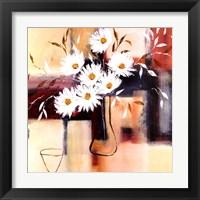 Framed Daisy Impressions I
