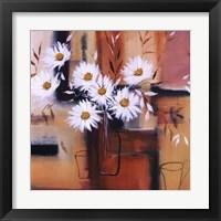 Daisy Impressions II Framed Print