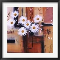 Framed Daisy Impressions II