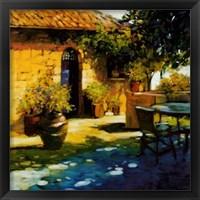 Framed Courtyard Retreat