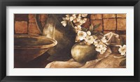 Framed Tiled Still Life I