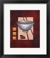 Framed Oriental Dining II