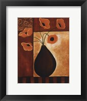 Golden Glow I Framed Print