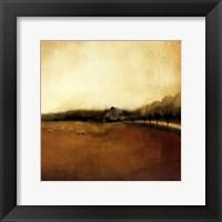 Framed Rural Landscape I
