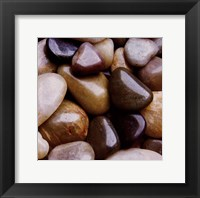 Framed River Rocks