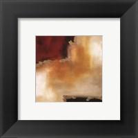 Crimson Accent II Framed Print