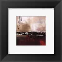 Framed Symphony in Red and Khaki I