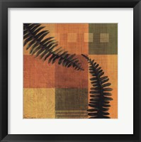 Framed Fern Blocks II